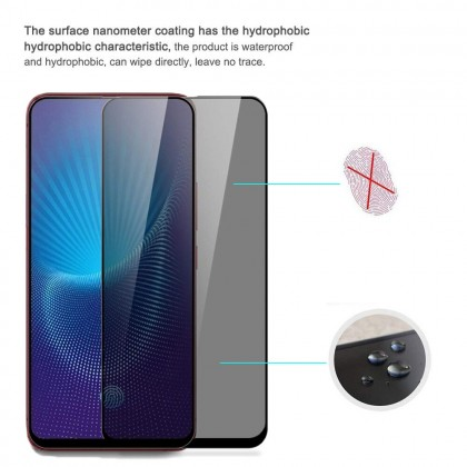 Vivo S1 Pro/V17/V19 Anti Spy Tempered Glass