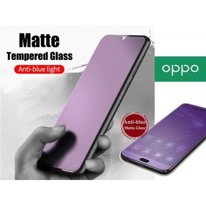 Oppo A37/A31/A5(2020)/A9(2020)A3S/A5S/A12/A12E/A92/F1S/F5/F7/F9/F11 Pro/Reno 3 Anti Blue Matte Tempered Glass