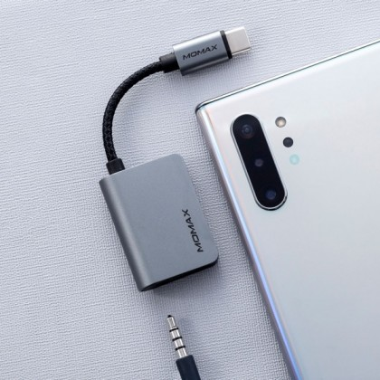Momax One Link Type-C to Audio Adapter (Anycolor)
