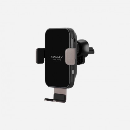 Momax CM11D Q.Mount Smart Auto Clamping Wireless Charging Car Mount