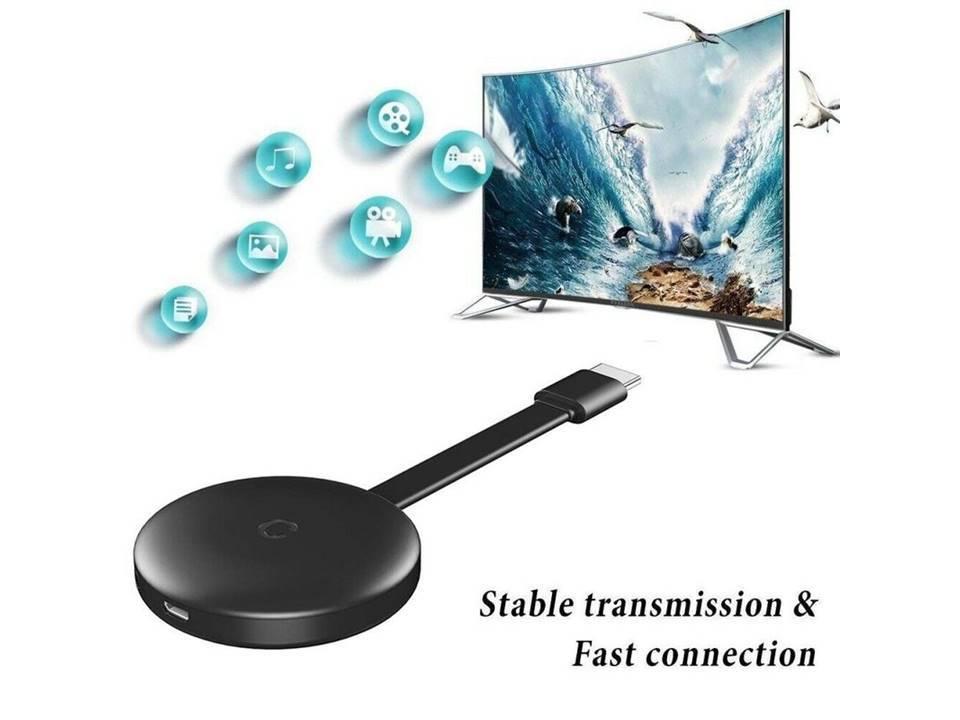 G12 1080P 5G WiFi HDMI Drahtloser Anzeigen-Adapter Doppelbandempfänger Airplay