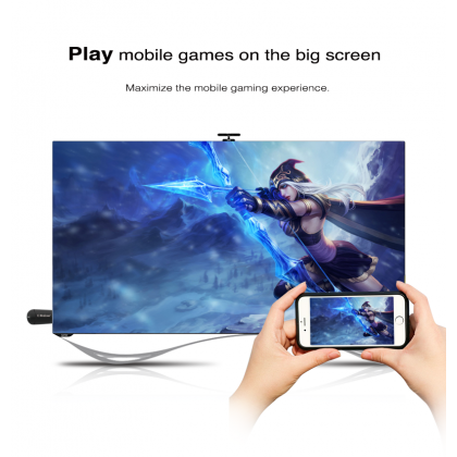K6 2.4G Mira Screen TV Stick Dongle Miracast HDMI Cable