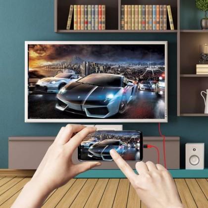 2M USB-C Type C USB 3.1 to HDMI 4K 2K HDTV Cable for Galaxy S9