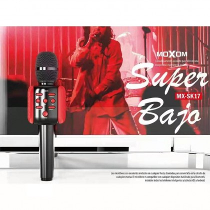 Moxom MX-SK17 Wireless Karaoke Microphone