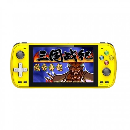 IPS 5.1 Inch PS5000 Double Handheld Game Player Arcade 128 Bit Retro Game Console 32G 6000+ Games Gaming Consoles With Gamepads (Anycolor)
