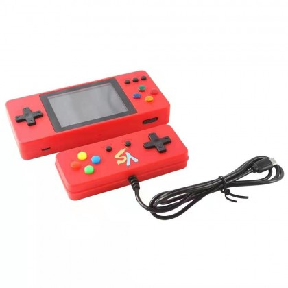 K8 Double Handheld Video TV Game Console 500 In 1 Retro Sup Games (Anycolor)