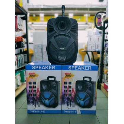 """Portable speaker 12"""" DWQ-2113-12"""