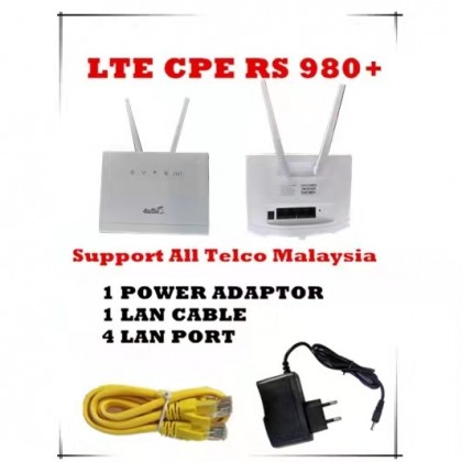 RS980+ Modified Modem Router WIFI