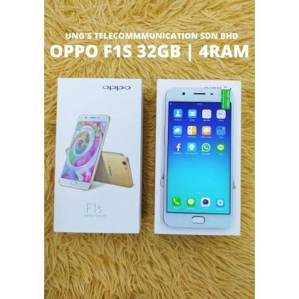 Oppo F1s (4+32GB) USED Full Set 98% Like NEW