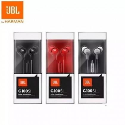JBL Harman C100S1 Handsfree Earphone Headset